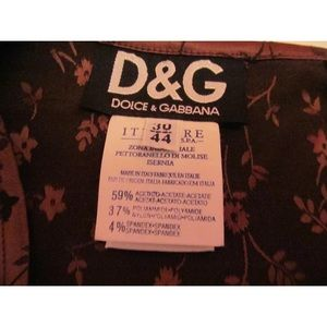Dolce & Gabbana Dresses - D&G vintage floral very stretchy mini dress NEW M